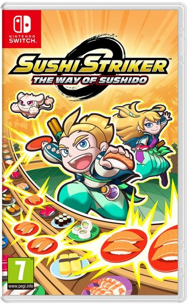 Image of   Sushi Striker: Way Of The Sushido - Nintendo Switch