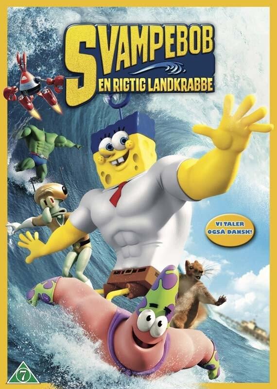 Billede af Svampebob Firkant Film: En Rigtig Landkrabbe - DVD - Film