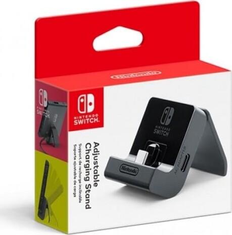 Image of   Nintendo Switch - Justerbar Oplader Og Stander