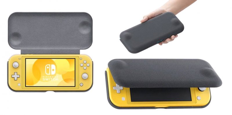Image of   Nintendo Switch Lite Flip Cover Og Skærmbeskyttelse