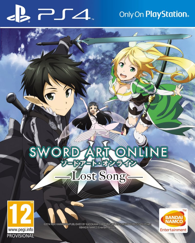 Image of   Sword Art Online 3: Lost Songs - PS4