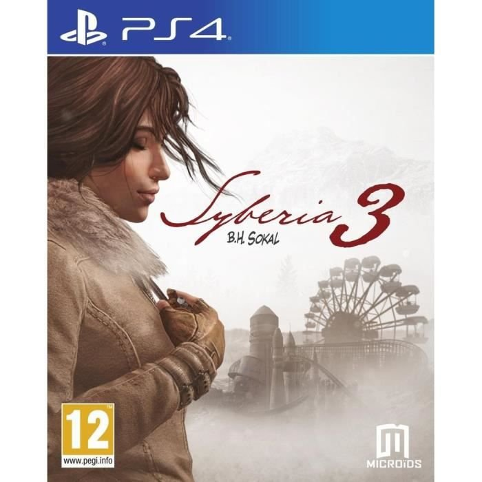 Image of   Syberia 3 - PS4