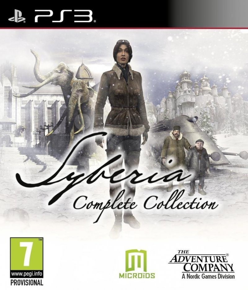 Syberia (complete Collection) - PS3