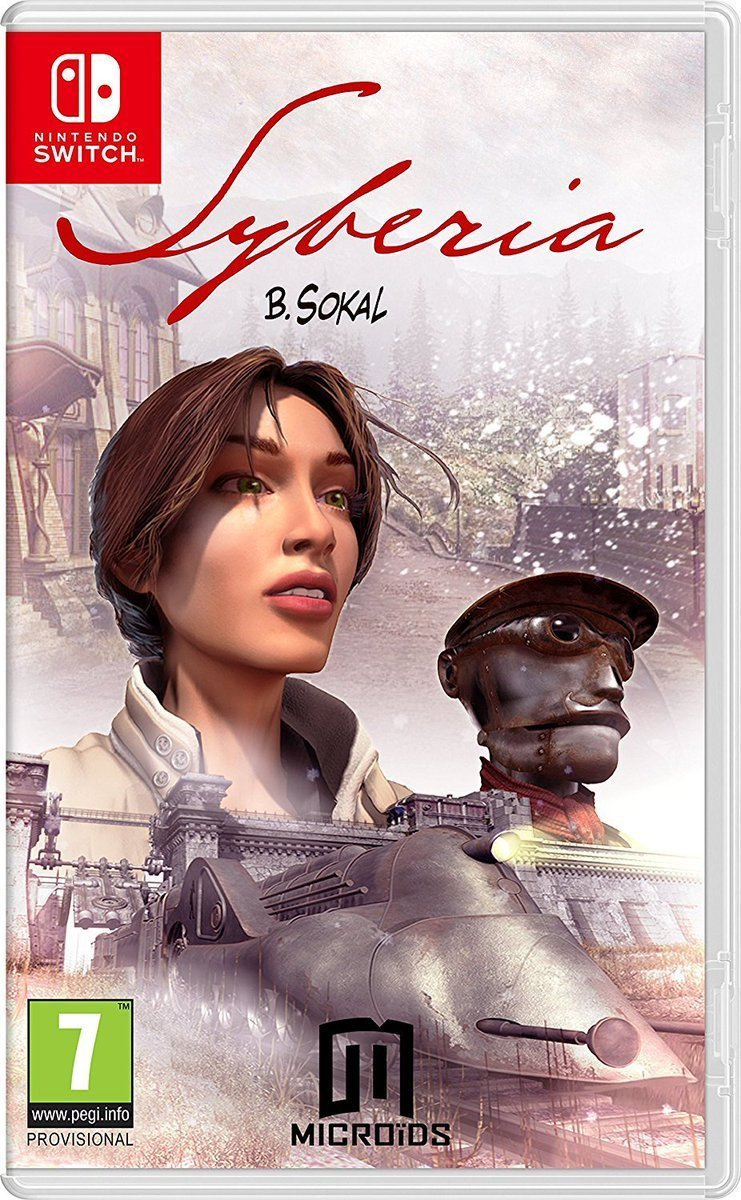 Image of   Syberia Replay - Code In A Box - Nintendo Switch