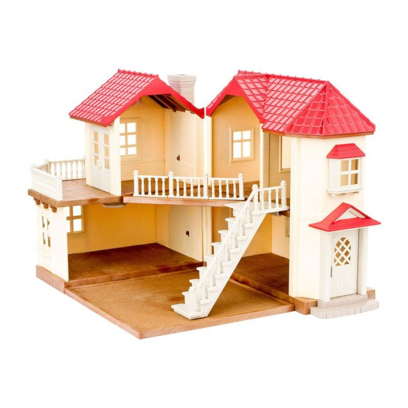 Image of   Sylvanian Families Dukkehus - Byhus Med Lys