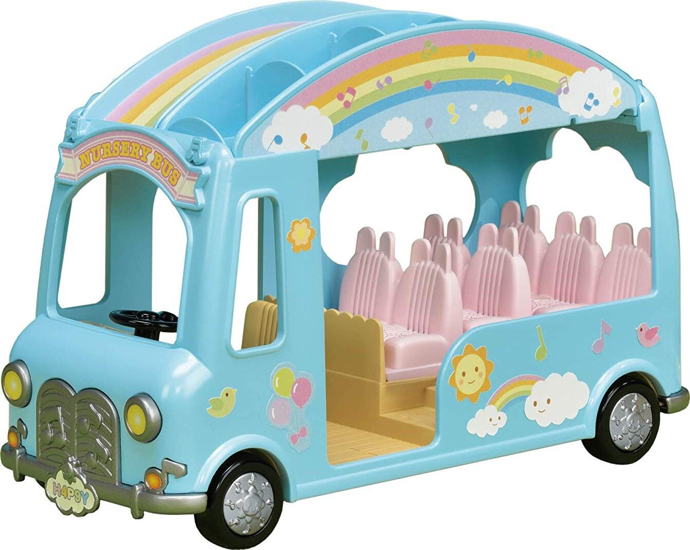 dc9ce3bc77a Sylvanian Families - Sunshine Nursery Bus - 5317 → Køb billigt her