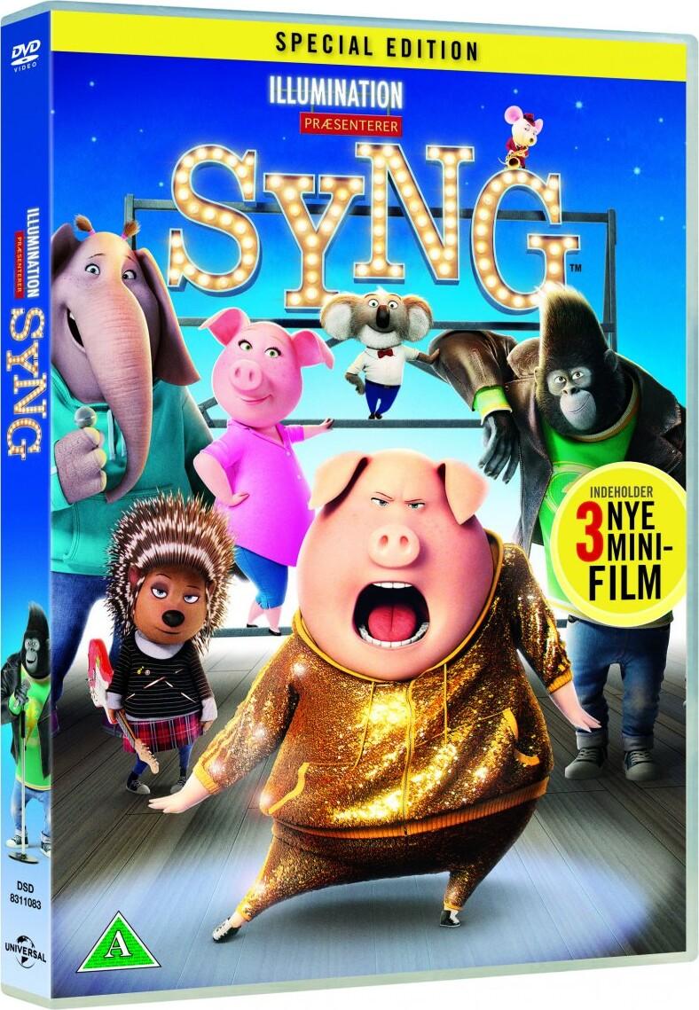 Billede af Syng / Sing Film - 2016 - DVD - Film