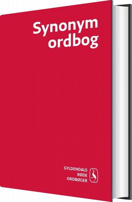 Synonymordbog - Marianne Holmen - Bog