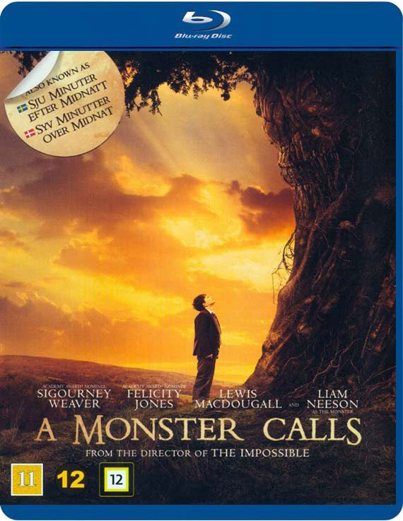 Image of   A Monster Calls / Syv Minutter Over Midnat - Blu-Ray