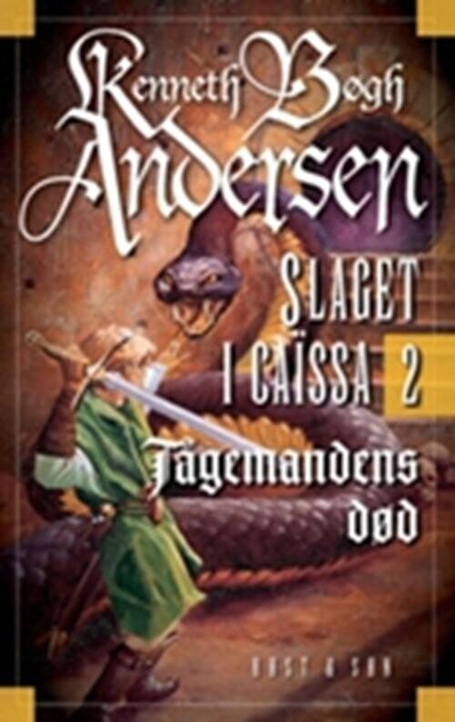 Tågemandens Død - Kenneth Bøgh Andersen - Bog