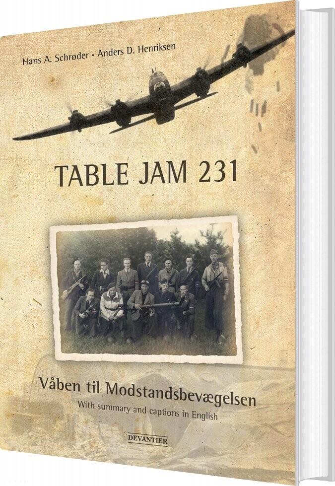 Image of   Table Jam 231 - Anders D. Henriksen - Bog