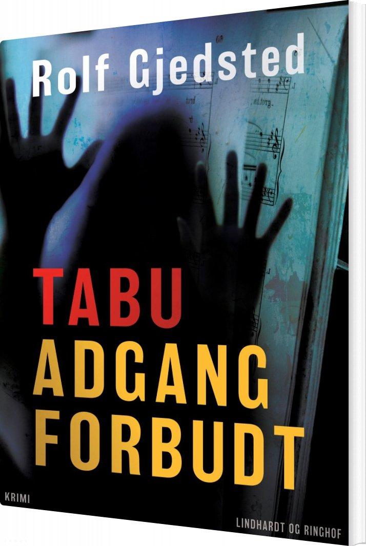 Image of   Tabu - Adgang Forbudt - Rolf Gjedsted - Bog