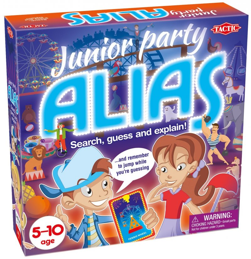 Alias - Junior Party - Tactic - Brætspil