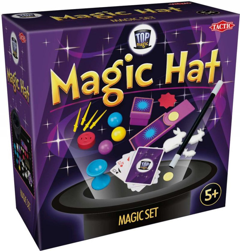 Tryllesæt -top Magic Tryllehat Med Tricks