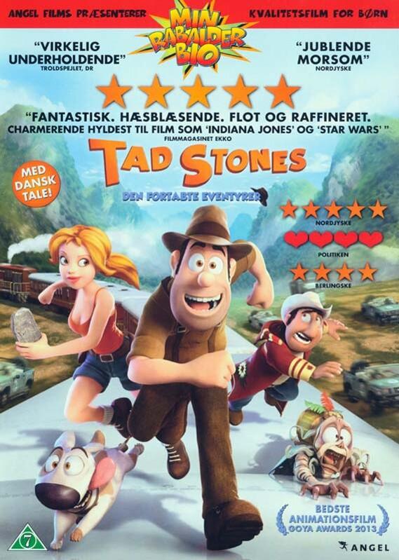 Billede af Tad Stones - Den Fortabte Eventyrer - DVD - Film