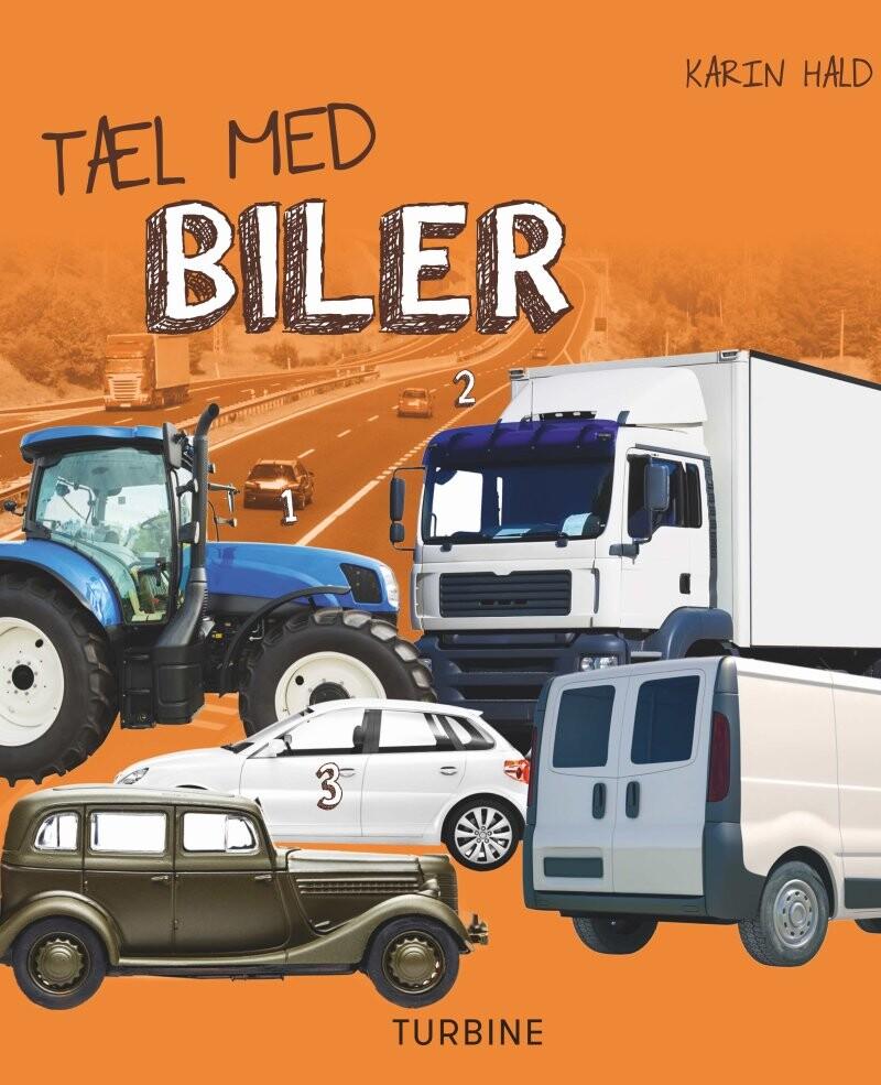 Tæl Med Biler - Karin Hald - Bog