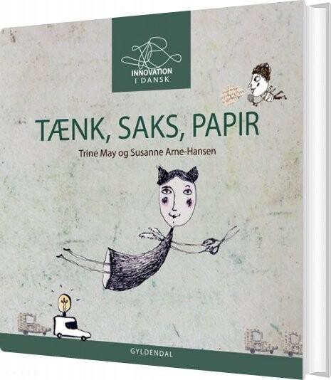 Image of   Tænk Saks Papir - Susanne Arne-hansen - Bog