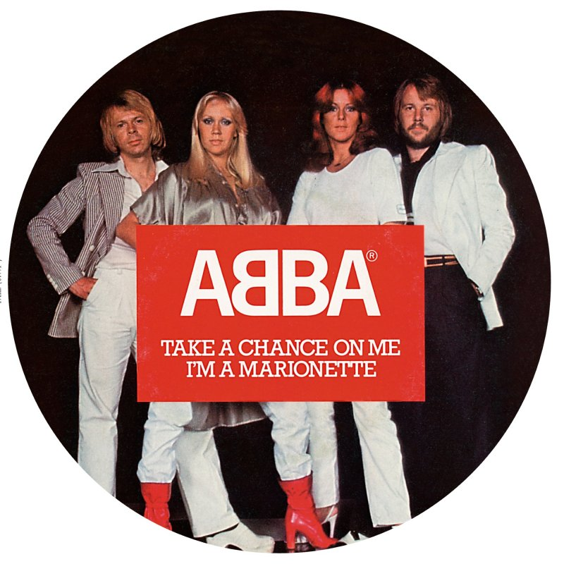 "Image of   Abba - Take A Chance On Me - 7"" Picture Disc - Vinyl / LP"