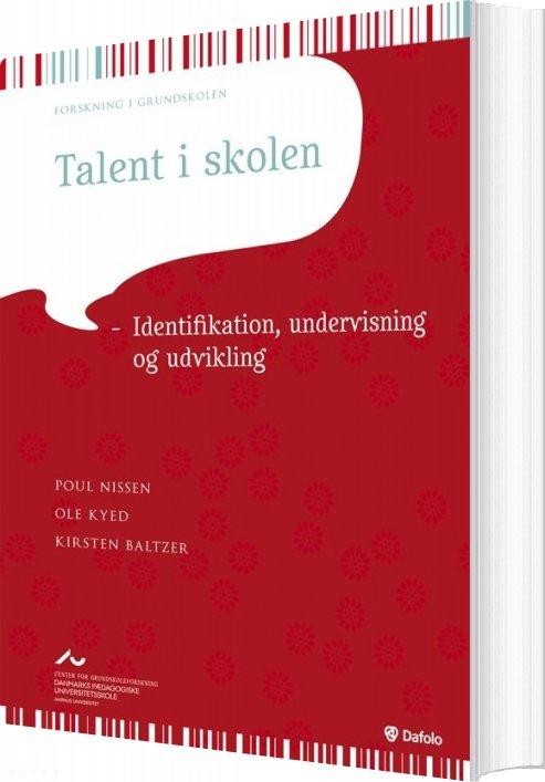 Talent I Skolen - Poul Nissen - Bog