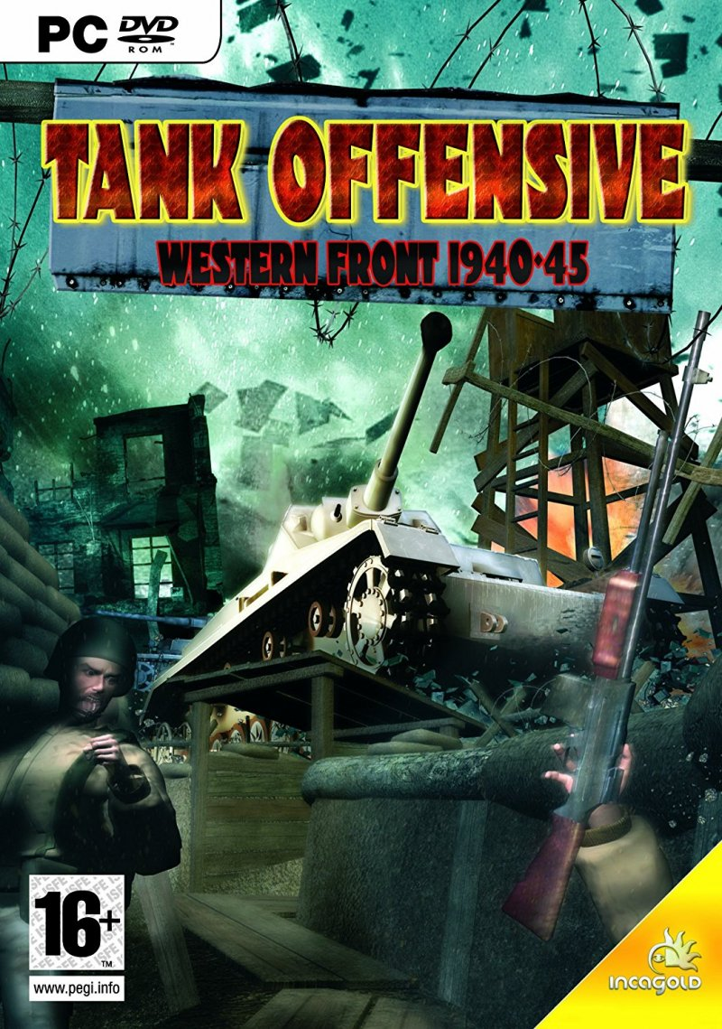 Image of   Tank Offensive: Western Front 1940-45 - PC