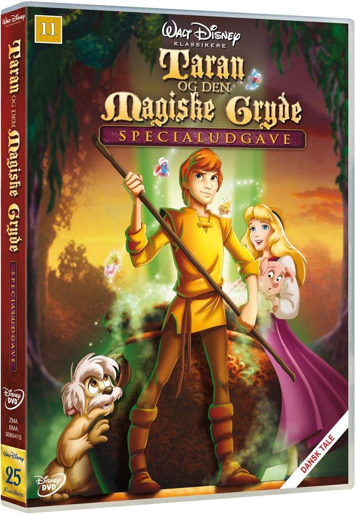 Billede af Taran Og Den Magiske Gryde - Specialudgave - Disney - DVD - Film