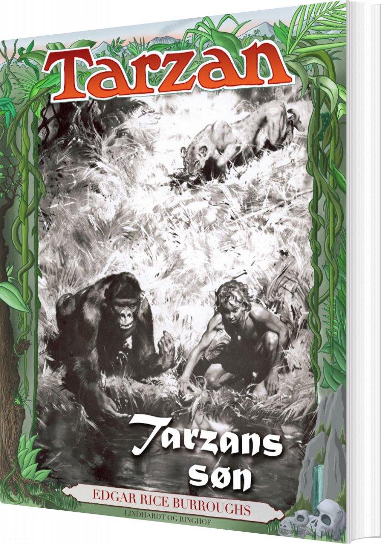 Tarzans Søn - Edgar Rice Burroughs - Bog