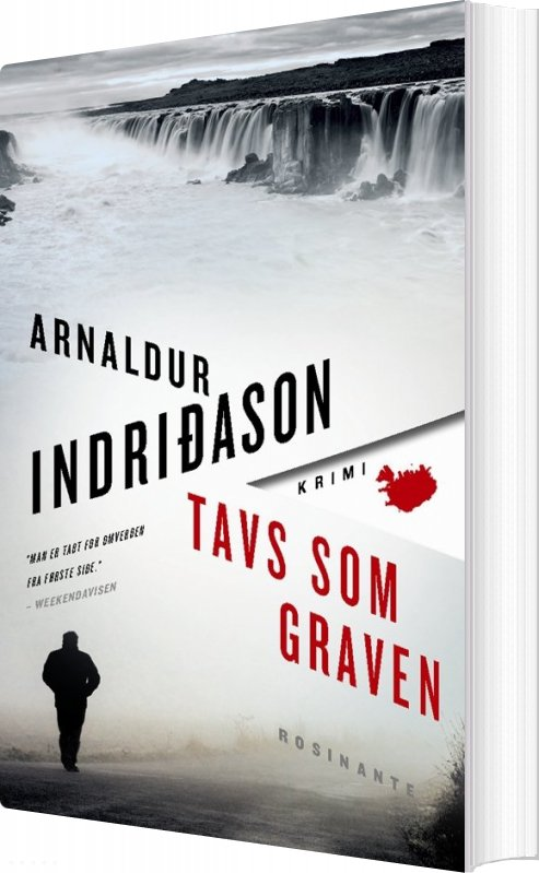 Image of   Tavs Som Graven - Arnaldur Indridason - Bog