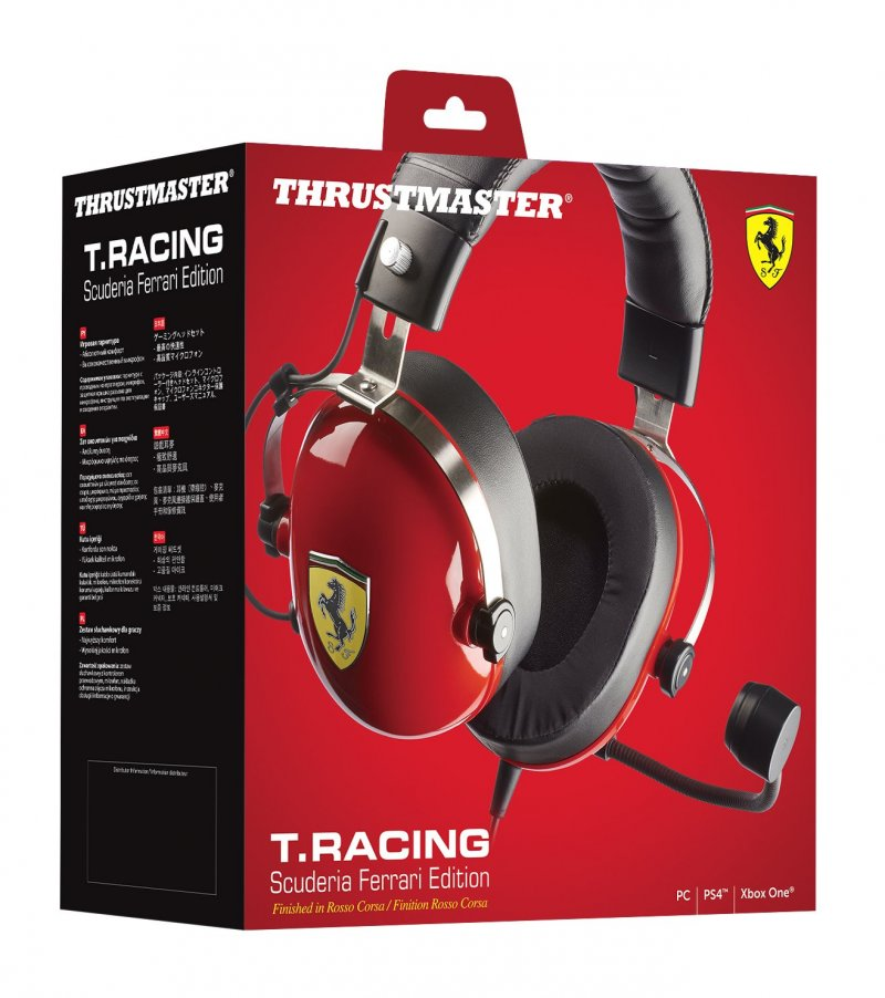 Image of   Thrustmaster T. Racing Scu. Ferrari Edition Hovedtelefoner
