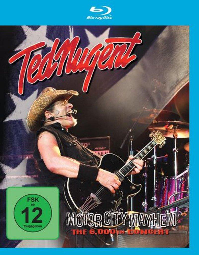 Ted Nugent - Motor City Mayhem: The 6000th Show - Blu-Ray