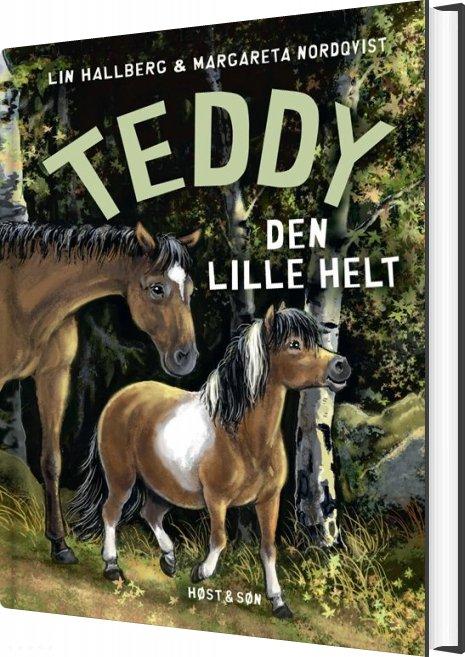 Teddy - Den Lille Helt - Lin Hallberg - Bog