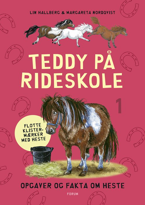 Teddy På Rideskole 1 - Lin Hallberg - Bog
