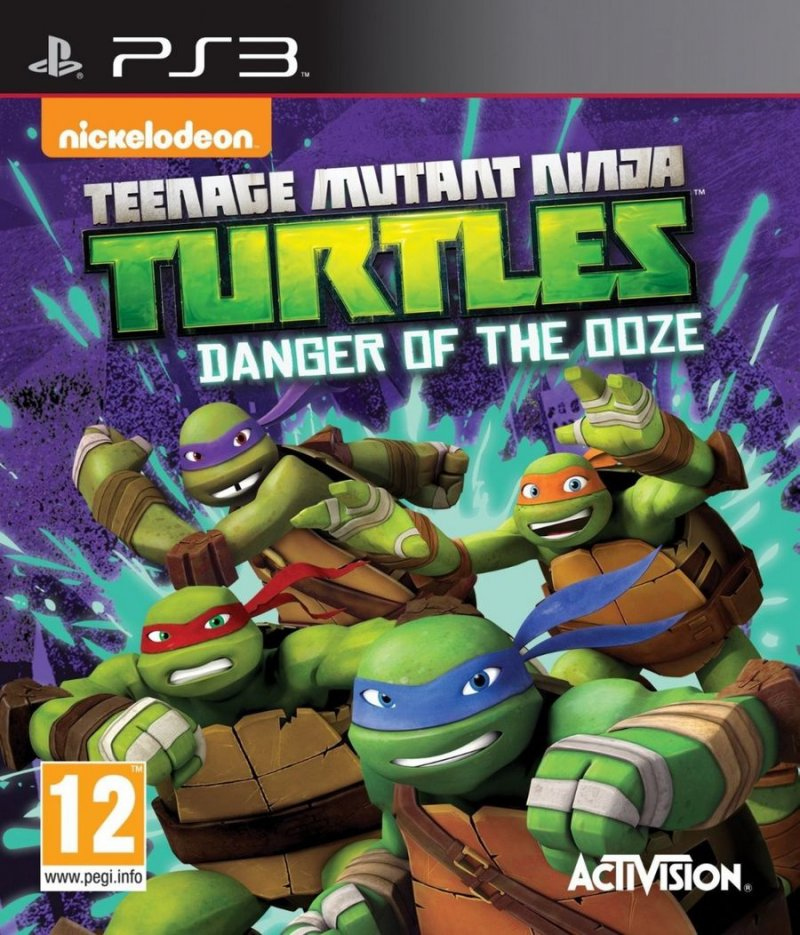 Image of   Teenage Mutant Ninja Turtles: Danger Of The Ooze (import) - PS3