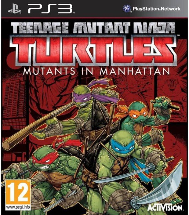Teenage Mutant Ninja Turtles: Mutants In Manhattan (import) - PS3