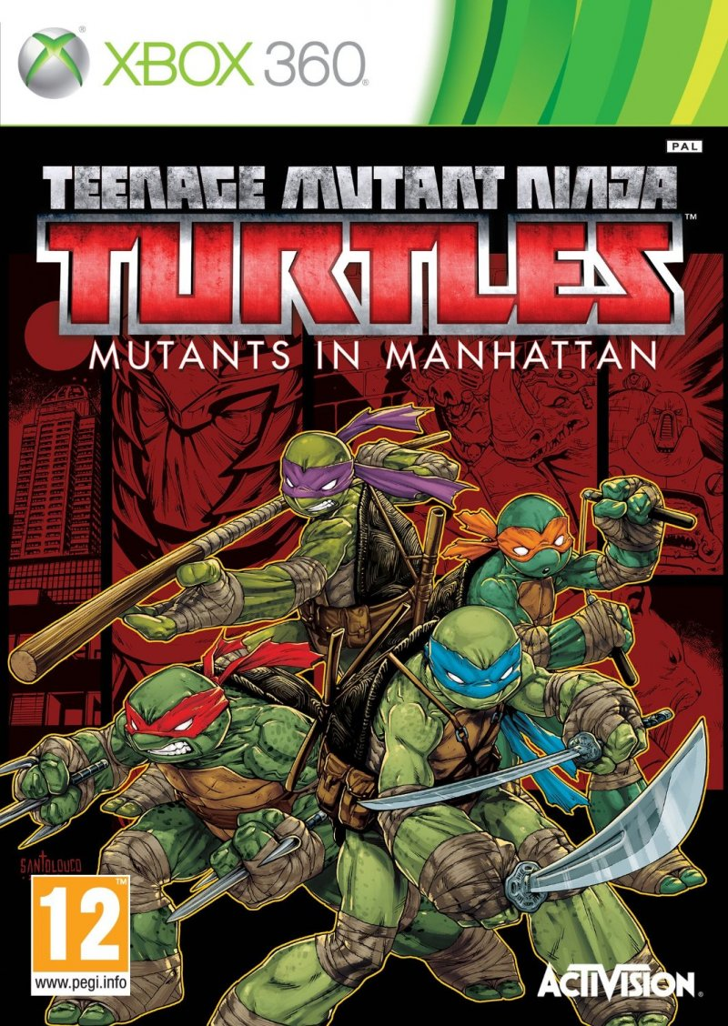 Image of   Teenage Mutant Ninja Turtles: Mutants In Manhattan - Xbox 360