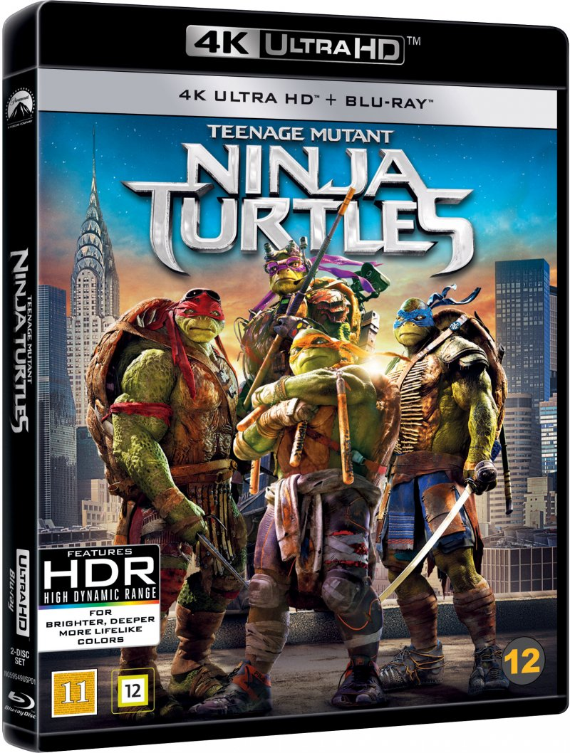 Billede af Teenage Mutant Ninja Turtles - 4K Blu-Ray