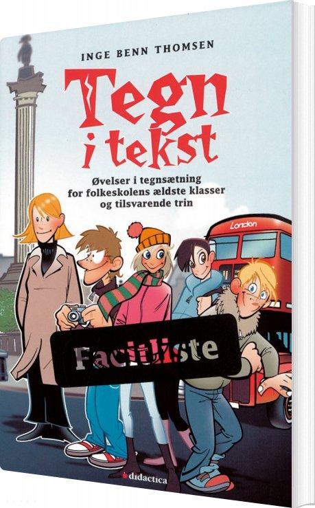 Tegn I Tekst - Inge Benn Thomsen - Bog