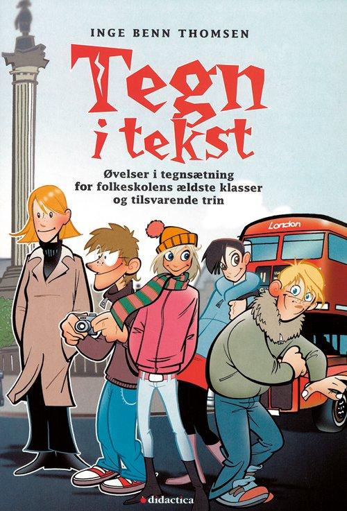 Image of   Tegn I Tekst - Inge Benn Thomsen - Bog