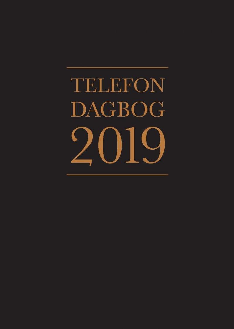 Image of   Telefondagbog 2019 - Diverse - Bog