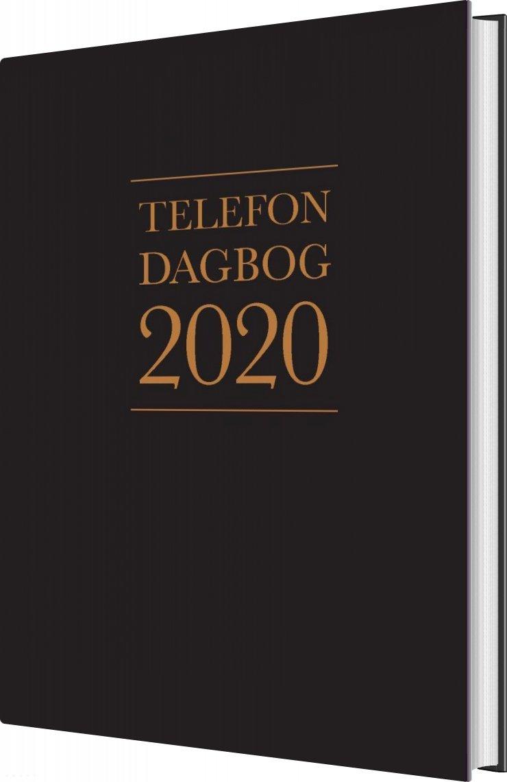 Image of   Telefondagbog 2020 - Lindhardt - Bog