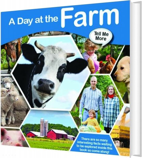Image of   Tell Me More - A Day At The Farm - Bog
