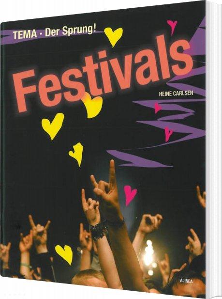 Image of   Tema Der Sprung!, Festivals - Heine Carlsen - Bog