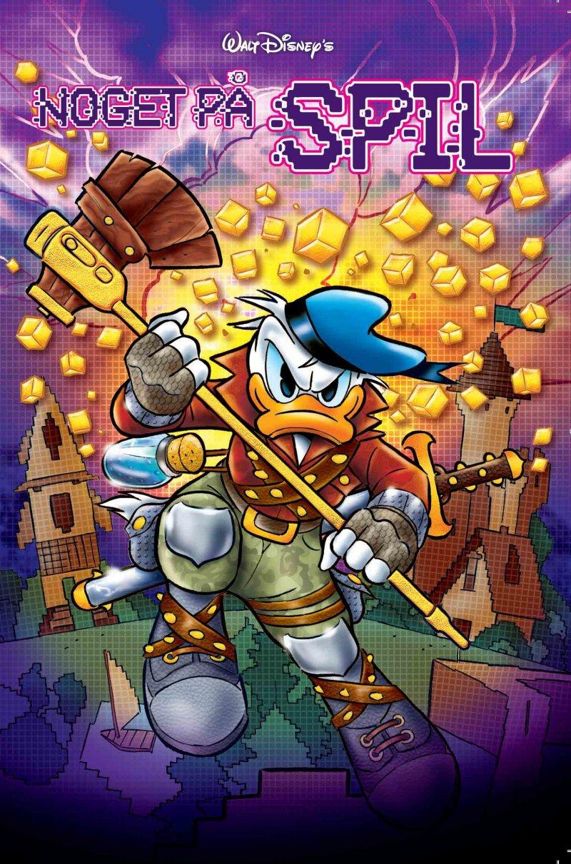 Image of   Jumbobog Tema - Noget På Spil - Disney - Tegneserie