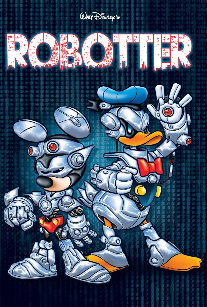Image of   Jumbobog Tema - Robotter - Disney - Tegneserie