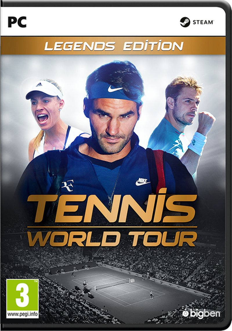 Image of   Tennis World Tour - Legends Edition - PC