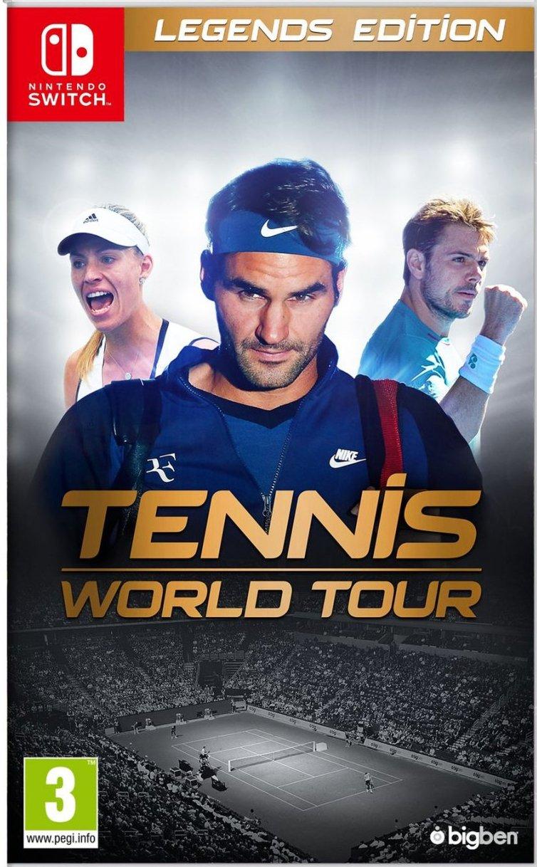 Tennis World Tour: Legendsedition - Nintendo Switch