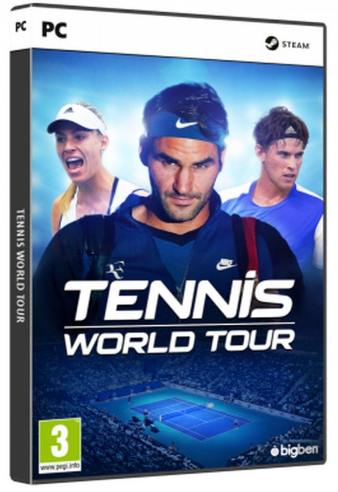 Image of   Tennis World Tour - PC