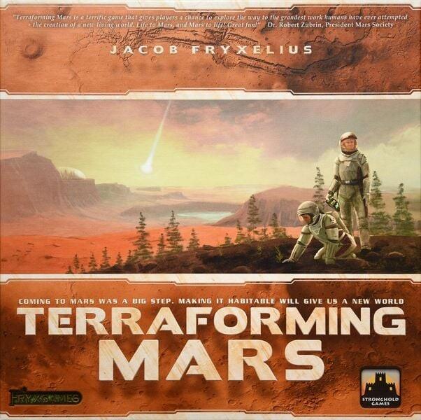 Terraforming Mars - Brætspil På Dansk