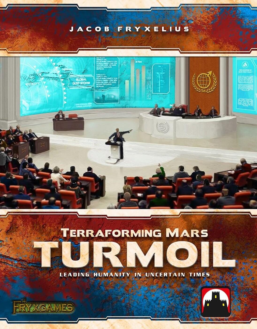 Terraforming Mars - Turmoil - Brætspil På Engelsk