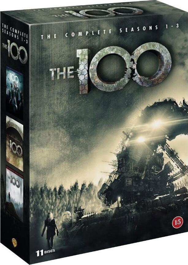 The 100 - Sæson 1-3 - DVD - Tv-serie