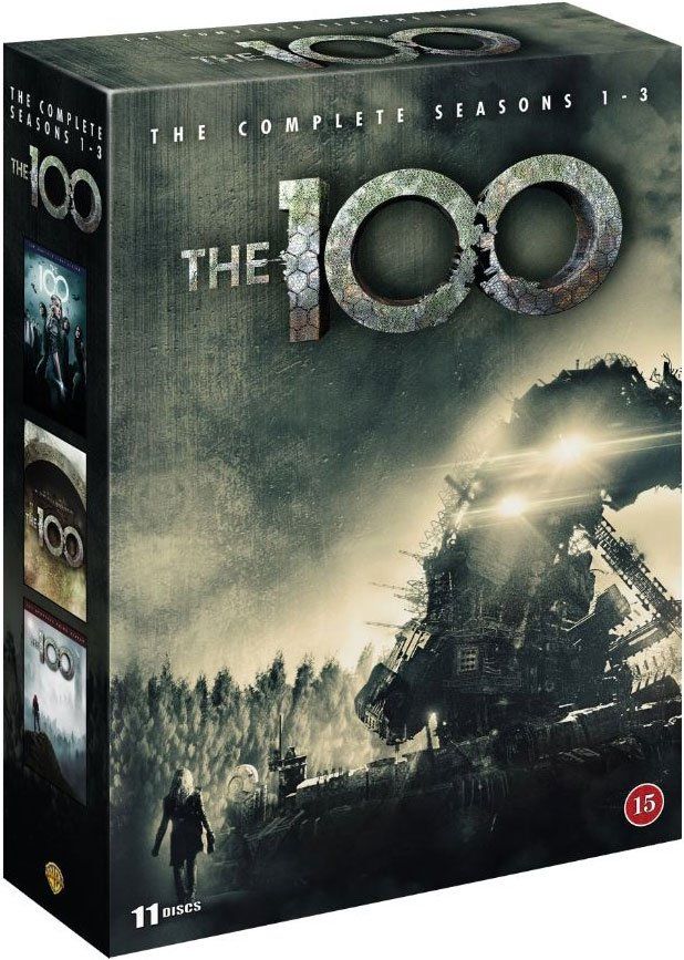 Image of   The 100 - Sæson 1-3 - DVD - Tv-serie